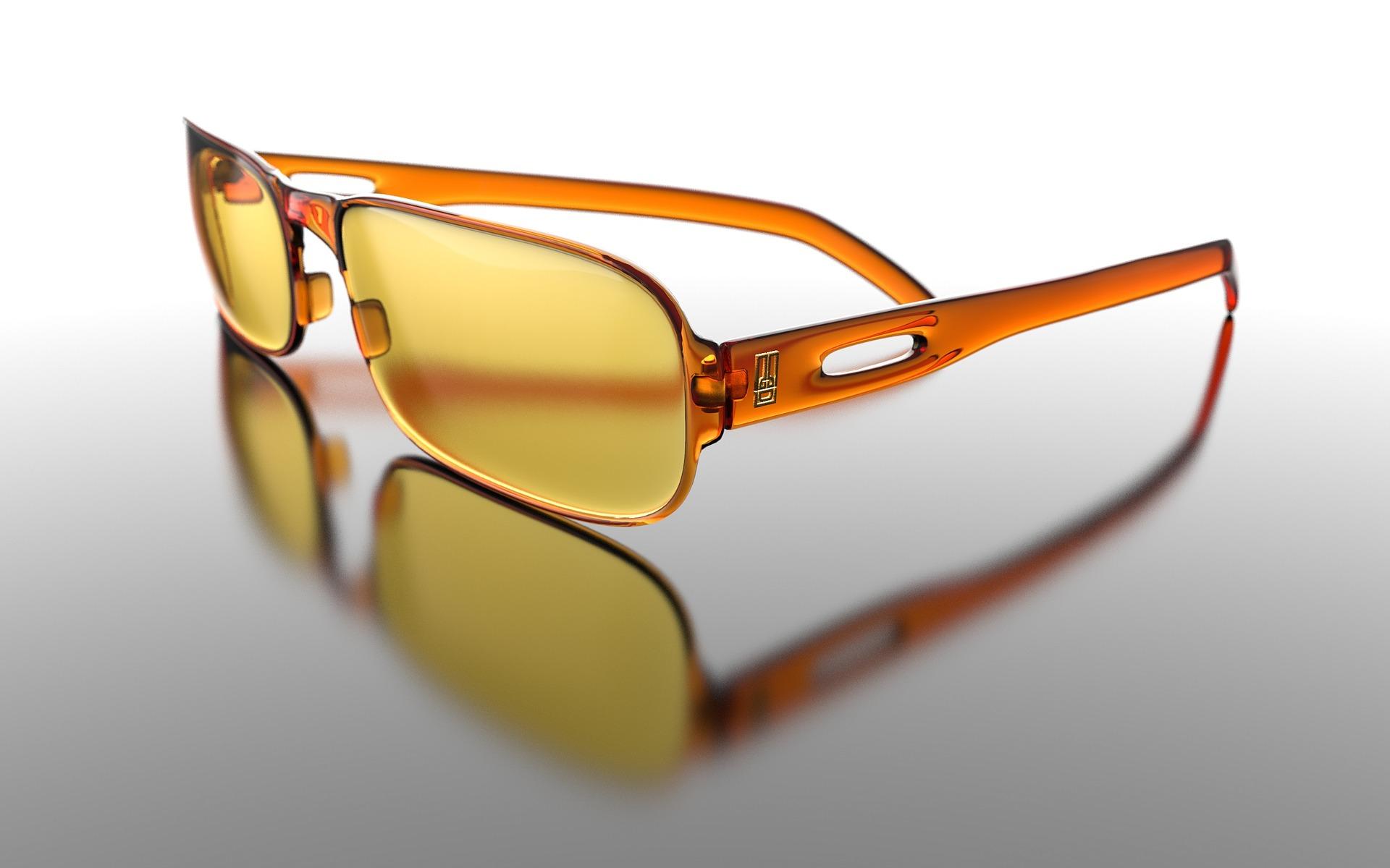 Blaulicht-Brille
